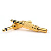 Mad Hornets 10PCS Gold Plated 6.35mm Male 1/4 Mono Plug Audio Connector Soldering