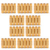 Mad Hornets 50PCS Gold-Plated RCA AV Audio Video Female To Female Coupler Connector