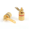 Mad Hornets 10PCS Gold Plated Binding Post Amplifier Speaker Audio Connector Terminal