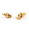 Mad Hornets 60PCS RCA Jack Panel Mount Chassis Socket Gold Plated