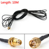 Mad Hornets 10m RG174 Cable SMA Male Plug To SMA Female Jack Bulkhead Coax Pigtail 32ft