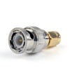 Mad Hornets 1Pc Adapter BNC Plug Male To SMA Male RF Connector Straight
