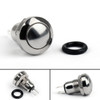 Mad Hornets 1PCS 8mm Mini 1NO 2Pin Metal Momentary Push Button Switch 3A 250V