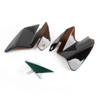 Seat Saddle Shield Heat Deflectors For Harley-Davidson Electra Glide Standard, Smoke (M201-001-Smoke)