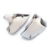 ABS Battery Side Covers For Honda VT600 Shadow VLX600 Deluxe (99-07) Chrome