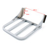 Sissy Bar Backrest Luggage Rack For Harley HD Heritage Softail FLST FLSTF FLSTC FLSTSC, Chrome