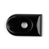Seat Bolt Tab Cover Mount Knob For Harley Sportster Dyna Touring US, Black (M512-F057-Black)