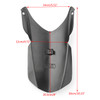 ABS Motorcycle Front Fender Extender Extension For BMW R1200GS LC (13-15) R1200GS ADV (14-16) Black