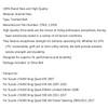 Drive Belt 27601-11H00 For Suzuki LTA450 King Quad 450 AXi Limited Edition, LTA500 King Quad 500 AXi Power Steering, Black