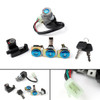 Ignition Switch Fuel Gas Cap Cover Key Lock Set Fit Honda CN250 Helix 86-07