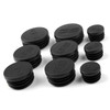 Frame Hole Cover Caps Plugs Decor Set For BMW R1200GS/LS/ADV 2017-2018 Black