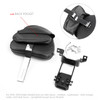 Plug-In Driver Backrest + Mounting Kit For Indian Chieftain Roadmaster 14-18 Chrome