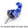 Carry Helmet Bottle Hanger Holder CNC Aluminum Alloy Hooks for Yamaha NMAX 155 2015-2018 Blue