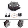 Air Cleaner intake filter For Harley Touring Street Glide,road king electra glide road glide Dyna FXDLS Softail Touring Trike Glass