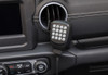 CB HAM GMRS Mic Holder Grab Bar Mount for Wrangler JL 2018+ 75WXST