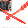 20PCS Snow Tire Chain Anti-Skid Belt For Car Truck SUV Emergency Winter Driving