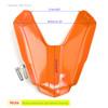 Rear Seat Passenger Cover Cowl Fairing For Honda CB500F 16-2018 CBR500R 2016-19 Orange