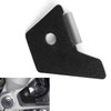 Front ABS Wheel Speed Sensor Guard Cover For BMW R1200GS Water Cooled 2013-2017 Black