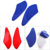 Tank Traction Pad Side Gas Knee Grip Protector For Kawasaki ZX-6R 2007-2008 Blue