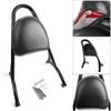 Sissy Bar Backrest w/Pad For Harley Sportster Iron Nightster 883 1200 XL Black