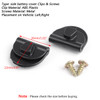 10pcs Side Battery Cover Clips for Harley Sportster 04-18 XL883 XL1200
