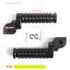 CNC Front Foot Pegs For CB125R CB250R CB300R 2018 CBR250RR 17-18 CB1100 13-14 CB1300 03-10 VFR1200X 12-13 Black