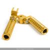CNC Front Foot Pegs For CB125R CB250R CB300R 2018 CBR250RR 17-18 CB1100 13-14 CB1300 03-10 VFR1200X 12-13 Gold