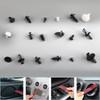 446PCS Fender Door Hood Bumper Trim Clips Body Retainer Assortment&Removal Tool