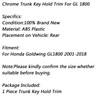 ABS Trunk Key Hold Trim For Honda Goldwing GL1800 2001-2018 Chrome