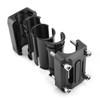 22mm 25mm 28mm Engine Frame Bar Slider Pads Black