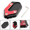 CNC Kickstand Side Stand Plate Extension Pad For BMW R1200GS LC 2017-2018 Red