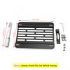 Front Bumper Tow Hook License Plate Mounting Holder Bracket For Rabbit/R32 06-10 VW GTi MK5 06-09 Black