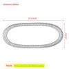 Drive Belt For Honda Metropolitan 02-09 CHF50 02-09 CHF50P 02-05 CHF50A CHF50PA 2004 CHF50PS 04-05 CHF50S 04-05 DIO Z4 SKX50S AF63 Black