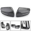 Fiber Rearview Mirror Cover For BENZ C E S GL Class W204 W212 W221 09-13 Carbon