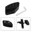 Foot Side Stand Extension Pad Plate Support For HONDA FORZA 125/250/300 18-19 Black