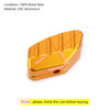 Foot Side Stand Extension Pad Plate Support For HONDA FORZA 125/250/300 18-19 Yellow