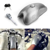 Cafe Racer Gas Fuel Tank Iron 10L 2.6 Gallon For Suzuki Yamaha Honda Silver