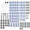 Fairing Bolt Kit Bodywork Screws for Ducati 1098 1198 S 1199 748 749 750 848 900 916 996 998 999 Monster 1100 400 600 695 Multistrada 1000 Streetfighter 848 BlUE