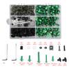 Fairing Bolt Kit Bodywork Screws for Ducati 1098 1198 S 1199 748 749 750 848 900 916 996 998 999 Monster 1100 400 600 695 Multistrada 1000 Streetfighter 848 Green