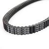 External Drive Belt V-belt Fit for Suzuki AN 400 Burgman 99-02 Black