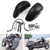 Hard Bags Saddlebags Heavy Duty Mounting Kit For Universal Classic Motorcycle Black