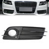 Right Front S-Line Bumper Fog Light Grille For Audi A4 S-LINE S4 08-12 Black