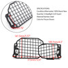 Headlight Guard Protector Grill Cover For BMW F800GS 700GS F800R F650GS 2008-2017 Black