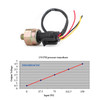 Fuel Pressure Transducer Sender 150 Psi For Oil Air Fuel Air Water