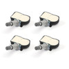 4X TPMS Tire Pressure Sensors 56029527AA For Journey 09-17 Avenger 12-13 Caliber 11-12 Grand Caravan 08-12 Charger Magnum 08 Black