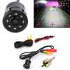 170 HD Car Rear View Reverse CDD Backup Parking Camera CMOS Night Vision 8 LED