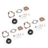 3PCS Carburetor Carb Rebuild Repair Kit w Float For Johnson Evinrude 396701 18/20/25/28/30/35/40/45/48/50/60/70/75 HP