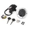 Ignition Switch Fuel Gas Cap Seat Lock Key Kit For Suzuki GSXR600 GSXR750 06-18 GSXR1000 05-18 DL650 V-Strom 12-16 DL1000 V-Strom 14-16