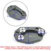 Kickstand Sidestand Extension Foot Plate Pad For Kawasaki Z1000 10-18 ER6N/ER6F 06-15 ZX10R 08-15 ZX6R 09-15 Titanium