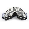 Motorcycle Racing Goggles Motocross MX MTB ATV UTV Dirt Bike Off-road Eyewear A017 Black & Clear Lens